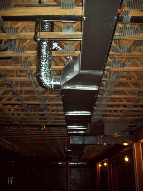 Ceiling Mechanicals